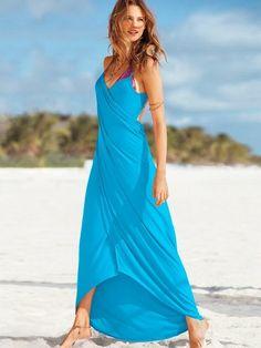 robe paréo version longue