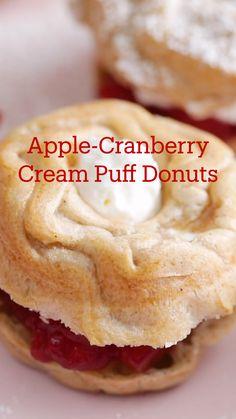 Donut Recipes, Apple Recipes, Fall Recipes, Sweet Recipes, Baking Recipes, Cookie Recipes, Simply Recipes, Frosting Recipes, Baking Ideas