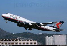 Canadian Airlines Boeing 747-4F6 Boeing 747 400, Boeing Aircraft, Airbus A380, Pacific Airlines, Canadian Airlines, Air North, Air Company, International Airlines, Commercial Aircraft