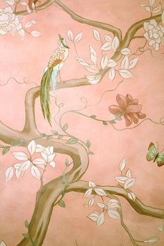 爱 Chinoiserie? Mai Qui! 爱 home decor in chinoiserie style - Asian wallpaper by Ali Kay of Positive Space