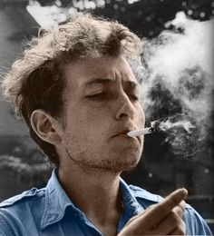 Bob Dylan -- is it weird I find him attractive? lol