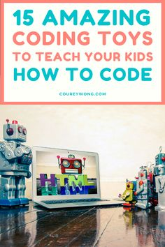 Top 15 Coding Toys For Kids | Ready to teach your kids the fundamentals of coding? Now your kids can learn the basics while playing with simple interactive toys and games that will help stimulate them to understand the logics of learning to code. Today they're playing with toys, tomorrow they're building the next app. #techtoys #codingtoysforkids #codingtoysfortoddlers Toddler Toys, Kids Toys, Tech Toys, Interactive Toys, Learn To Code, Computer Programming, Software Development, Coding, Childhood Toys