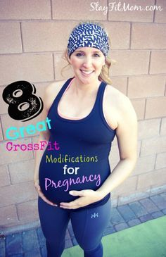 Modification options from StayFitMom.com to stay active while pregnant.