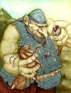 Scandinavian Jaette Troll (Giant Troll)
