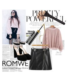 """Romwe 57"" by zerina913 ❤ liked on Polyvore featuring Jimmy Choo and romwe"