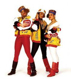 80s female hip hop clothing