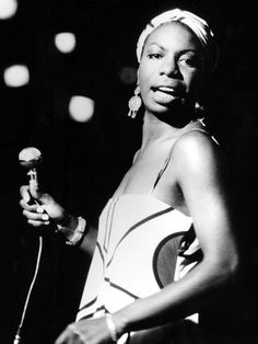 Nina Simone. Got invited backstage at the McCallum Theater to pay my respects, said a previous pinner.
