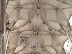 Ceiling of St. Barbora Cathedral