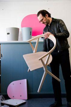 Chair_B, Bd Barcelona, 2010, Konstantin Grcic