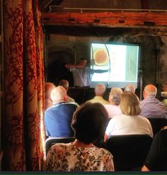 Our July monthly talk given by Stephen Whelan: The Longbow and its Impact on the Battle of Agincourt.   Link to a write-up of Stephen's talk:  http://kingjohnshouse.org.uk/the-longbow-and-its-impact-on-the-battle-of-agincourt/  In the picture Stephen is demonstrating how to use a longbow.