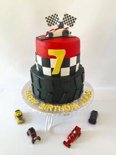 Hot Wheels / Racing birthday cake