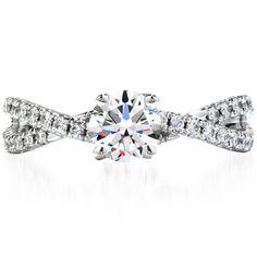 Karen's ring: heartsonfire envelope twist