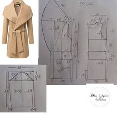 Sensational Tips Sewing Pattern Ideas. Brilliantly Tips Sewing Pattern Ideas. Sewing Paterns, Dress Sewing Patterns, Clothing Patterns, Coat Pattern Sewing, Sewing Coat, Sewing Clothes, Diy Clothes, Barbie Clothes, Barbie Barbie