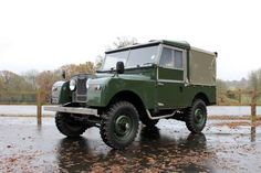 "1954 Land Rover Series 1 86"" Truck Cab For Sale"