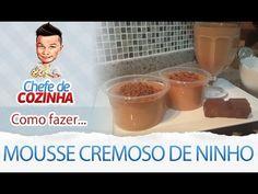 Receita Mousse Cremoso de Ninho - Por: Alex Granig - YouTube