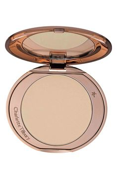 Loving the flawless finish from this Charlotte Tilbury skin perfecting powder!