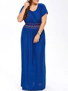 ec44d3e2335eb Competitive Blue 5xl Dresses online