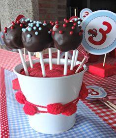 Cake pop de nutella CELEBRA CON ANA