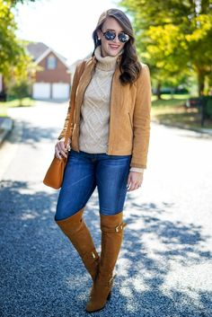 'I love when I find pieces that I really and truly wear from year to year. You've seen these boots so many times like inToronto,last fall(look at that foliage!!)andin San Francisco! And I'm pretty sure the last time we saw this turtleneckwas in this post!- Covering the Bases Get the details of this look here!  via @AOL_Lifestyle Read more: http://www.aol.com/article/lifestyle/2016/10/10/12-new-ugg-boot-styles-to-buy-before-they-sell-out/21578184/?a_dgi=aolshare_pinterest#fullscreen