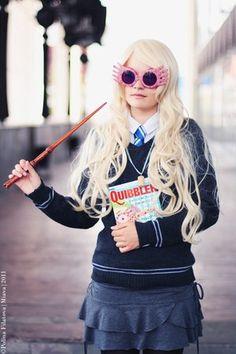 Amazing Luna Lovegood costume-Halloween perhaps