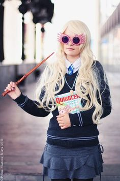 Amazing Luna Lovegood costume-Halloween perhaps