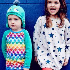 "Ballonjurk sterren""http://www.ekodepeko.nl/shop/boysgirls-organic-kinderkleding/boysgirls-organic-kinderkleding.html #eelijkekinderkleding #biologischkatoen"