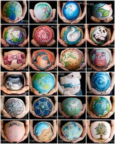 Prenatal Belly Painting Ideas