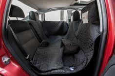 Ochranný potah na sedačky do auta - černý 140/160 cm