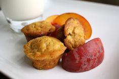 peach and butternut squash muffins