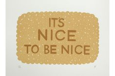 It's Nice to be Nice - Hazel Nicholls