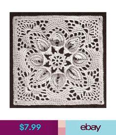 $7.99 - Vintage Crochet Pattern To Make Bedspread Motif Block Lily Design Puritan #ebay #Home & Garden