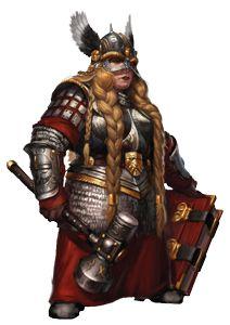 Female Dwarven Warrior