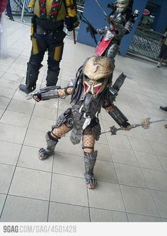 Introducing your kids to cosplay. You're doing it right.
