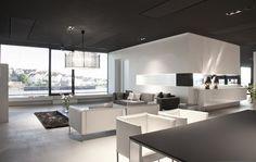 Steininger Küchen Design, Interior Design, Showroom, Designers, Homes, Interiors, Living Room, Architecture, Kitchen