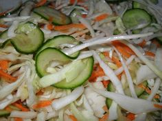 Zucchini, Food And Drink, Vegetables, Salads, Vegetable Recipes, Veggies