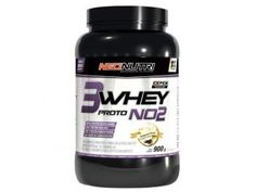 3 Whey Protein NO2 900g Morango e Banana - Neo Nutri