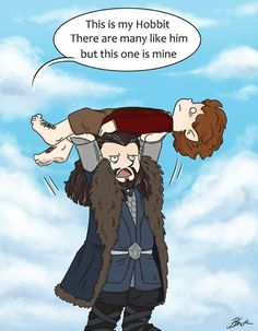 Thorin's Hobbit-why do i find this so funny?