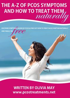 Free PCOS PDF - The A-Z of PCOS Symptoms & How to Treat Them Naturally #PCOS