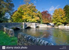 Stock Photo - Ashford in the Water Village in Autumn, Peak District National Park, Derbyshire, England, UK England Top, Bungee Jumping, Peak District, Derbyshire, Day Hike, Find Picture, Vectors, Waterfall, National Parks
