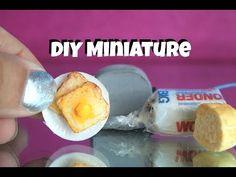 DIY Miniature toast | EASY DOLL FOOD - YouTube