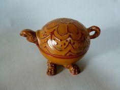 Little ceramic turtle bowl/ Turtle bowl by SharonMirandaPottery
