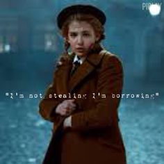 There's a difference between stealing and borrowing. when Liesel takes something, its borrowing, when anyone else takes anything it stealing. Big difference.