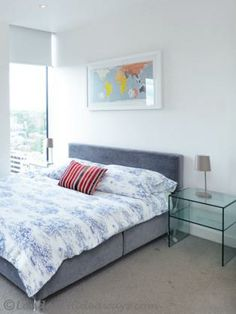 Fabulous modern one bedroom Furnished Apartments, Double Beds, One Bedroom, Skyline, King, Flooring, Modern, Furniture, Home Decor