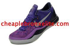 Kobe 8 Shoes Cheap Jordans, New Jordans Shoes, Jordans Sneakers, Jordan 5, Jordan Shoes, Kobe 8 Shoes, Cheap Sneakers, White P, Purple And Black