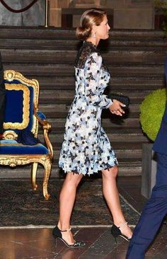 Crown Princess Victoria and Prince Daniel of Sweden, Prince Carl Philip of Sweden, Princess Madeleine of Sweden and her husband Christopher O'Neill attended a concert held by Swedish Royal Opera on the occassion of 70th birthday of King Gustaf at Stockholm Nordic Museum.