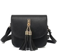 Vogue Star Fashion 2017 Small Chains Bag Women Candy Color Tassel Messenger Bags Female Handbag Shoulder Bag Flap Women Bag LA33