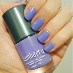 Jamberry lacquer in Jukebox, a gorgeous periwinkle shade voperko.jamberry.com