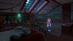 New Thimbleweed Park trailer explores the character of Delores Edmund   Thimbleweed Park the point-and-click adventure game with 50 shades of Twin Peaks and developed by the creators of Maniac Mansion Ron Gilbert and Gary Winnick has had another trailer released. This time we get a look at Delores Edmund heiress to Thimbleweed Parks pillow factory as well as alook at the background of the town.  Lost along a dusty stretch of highway Thimbleweed Park once boasted an opulent hotel a vibrant…
