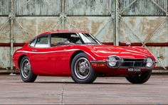 1967 #Toyota 2000 GT - #Lease with Premier, #Gooding&Co. #ScottsdaleAuctions, #Red, (Image Source goodingco.com #027)