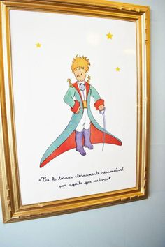 Kara's Party Ideas Little Prince Party Planning Ideas Supplies Idea Cake Decorations Prince Party Theme, Little Prince Party, The Little Prince, Little Princess, First Birthday Parties, First Birthdays, Crown Cupcake Toppers, Prince Cake, Illustrator